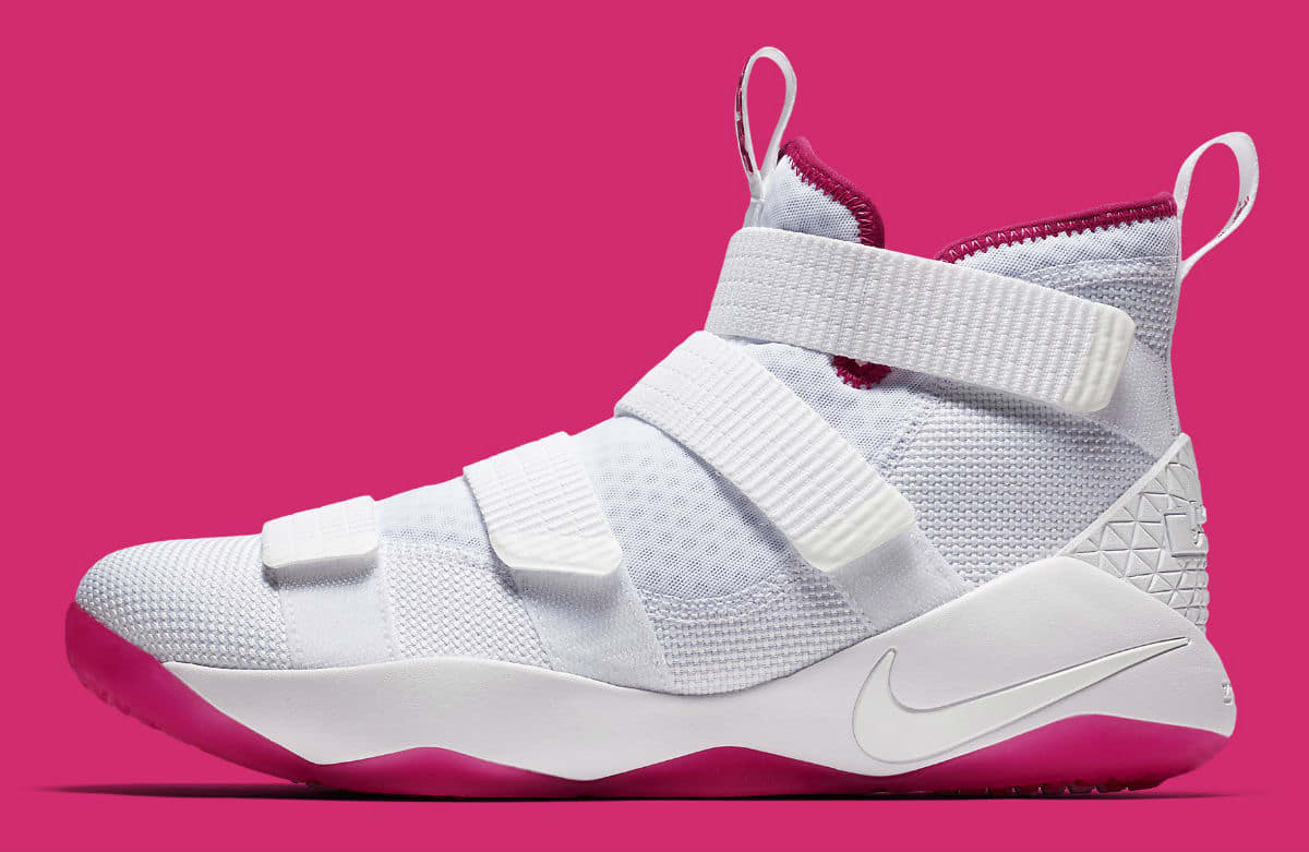 buy online 98cc5 933be  SoleCollector 1 year. the nike lebron soldier 11 battles breast cancer