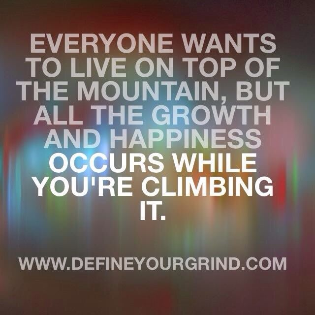 The Man on top of the Mountain Didn&#39;t land there.  #Inspiration #Faith #WednesdayWisdom #Believe <br>http://pic.twitter.com/Ip3YTOQRbD