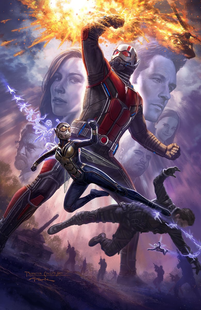 Here&#39;s #Marvel&#39;s Ant-Man &amp; The Wasp concept poster. Are you excited for 7.18.18?  Check out #StanLee&#39;s Comic Box at  http:// ComicBookBox.com  &nbsp;  <br>http://pic.twitter.com/HoC3XeXKhz