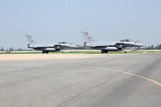 """مصر تتسلم الدفعة الرابعة من المقاتلات الفرنسية """"رافال DFq7w_RXkAASWTq"""