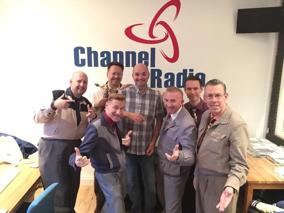 @jiveaces are on @Jamiesjazzshow live from 6pm tomorrow. Tune in here;  http://www. channelradio.co.uk  &nbsp;  , or on @tunein #Swing #Jive #livemusic #Radio <br>http://pic.twitter.com/11ggi310Em