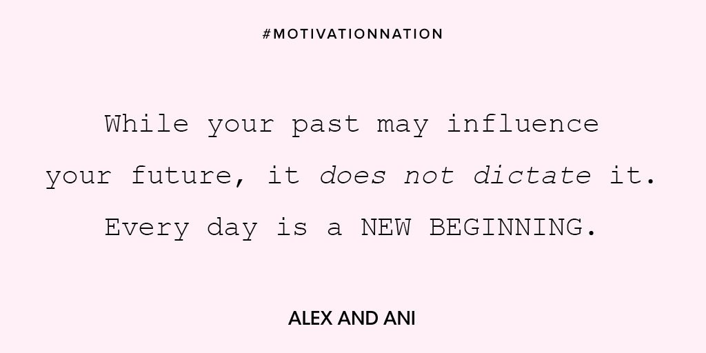 Alex And Ani On Twitter Clean Slate Motivationnation