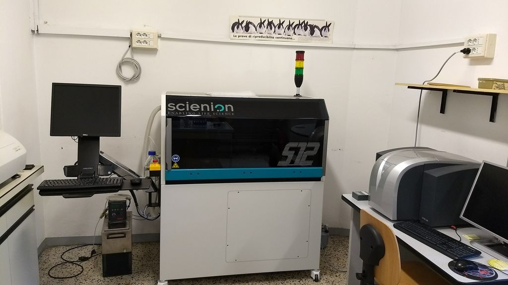 Here it is!! Our brand new #spotter from @SCIENION_US  #AusLab #science #research #diagnostics #microarray  #bioassay<br>http://pic.twitter.com/FCjdgPFFS8