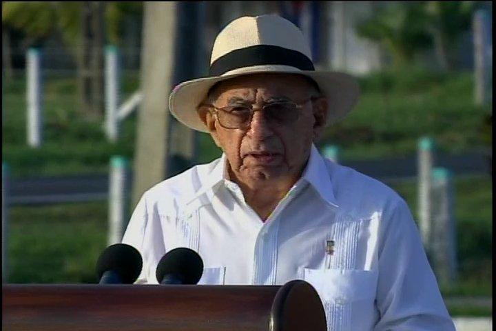 Jose Ramon Machado Ventura, second Secretary of the Party.