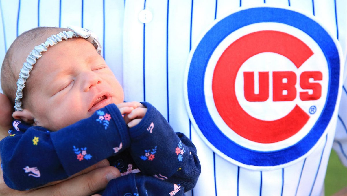 Chicago hospitals report a spike in births this month. What happened nine months ago? The Cubs won the World Series. https://t.co/j4T99I8hni