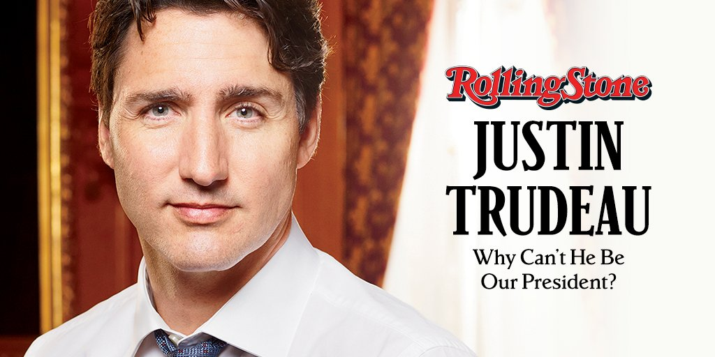 Justin Trudeau appears on our cover. Is Canada's prime minister the free world's best hope? https://t.co/yLLLr6sGGI