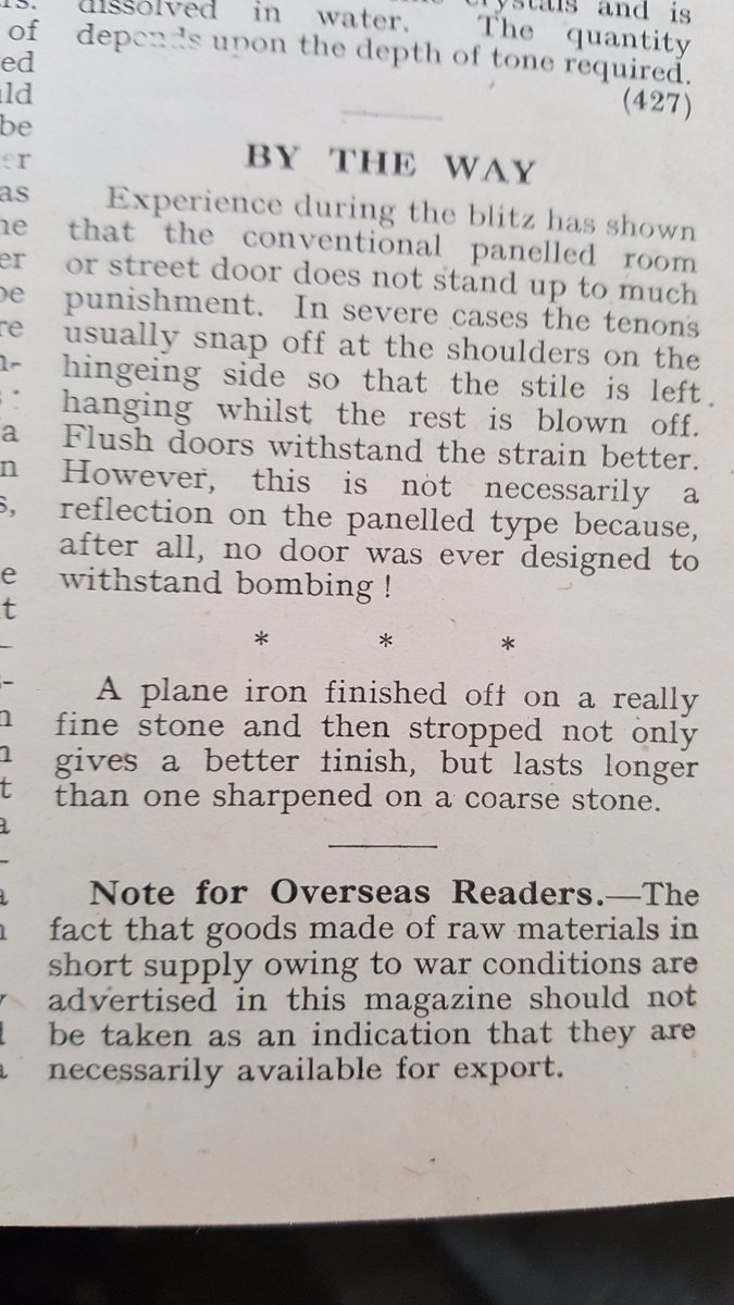 #Woodworking thoughts from 1945 <br>http://pic.twitter.com/A8ZrIIPxIt