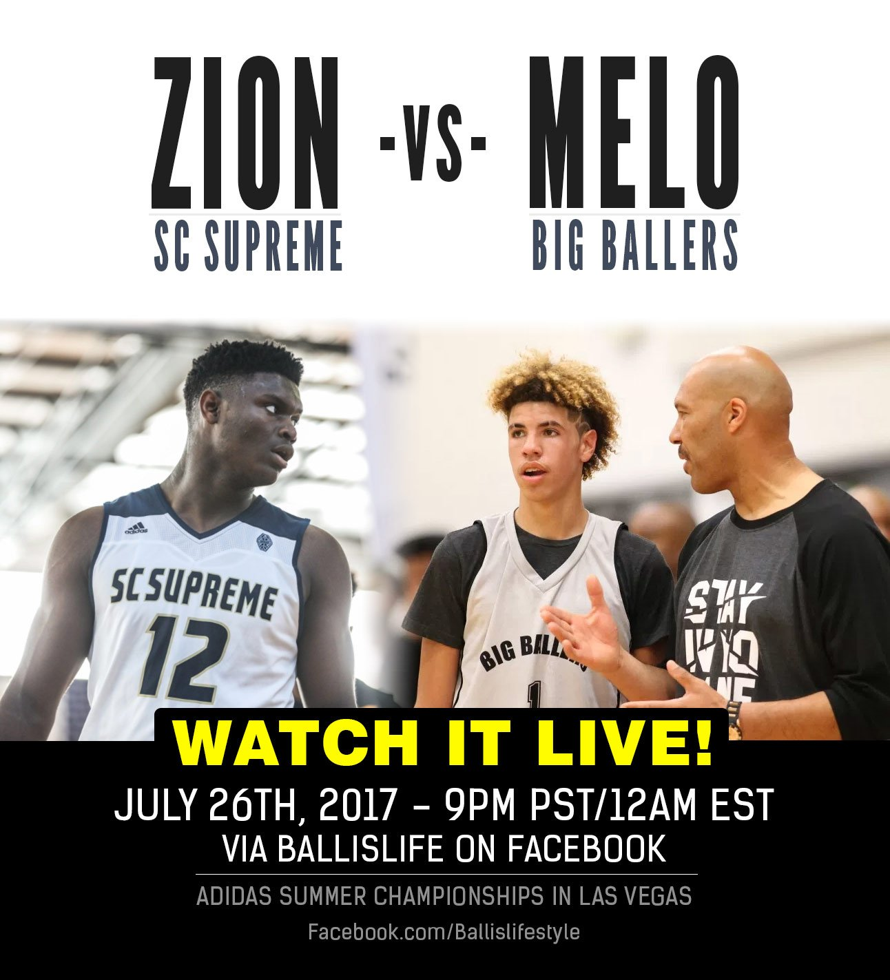 Thumbnail for Melo vs Zion