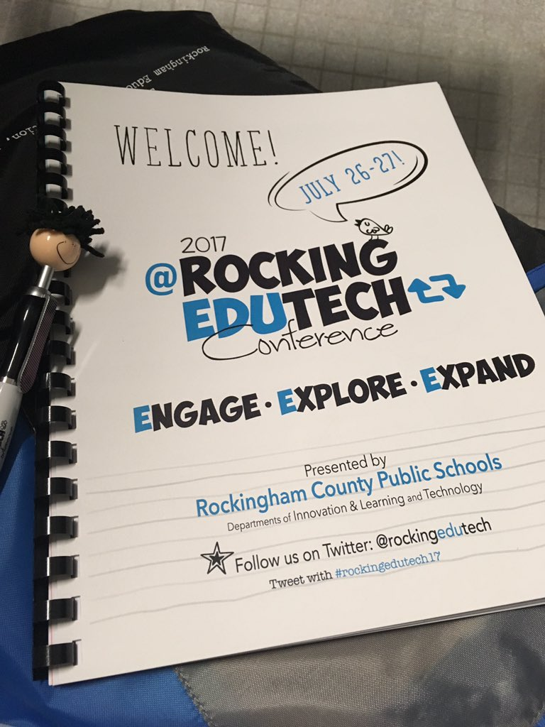 #rockingedutech17 @rockingedutech Eager to learn with @HallDavidson #tlchat #futurereadylib<br>http://pic.twitter.com/4gPPeJmP9s