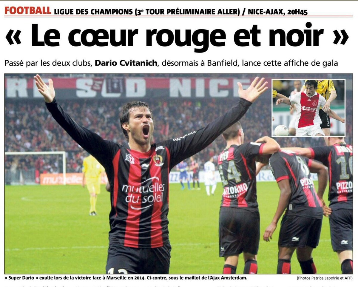 Merci @Nice_Matin et @v_menichini pour  l'interview....! ❤️🖤