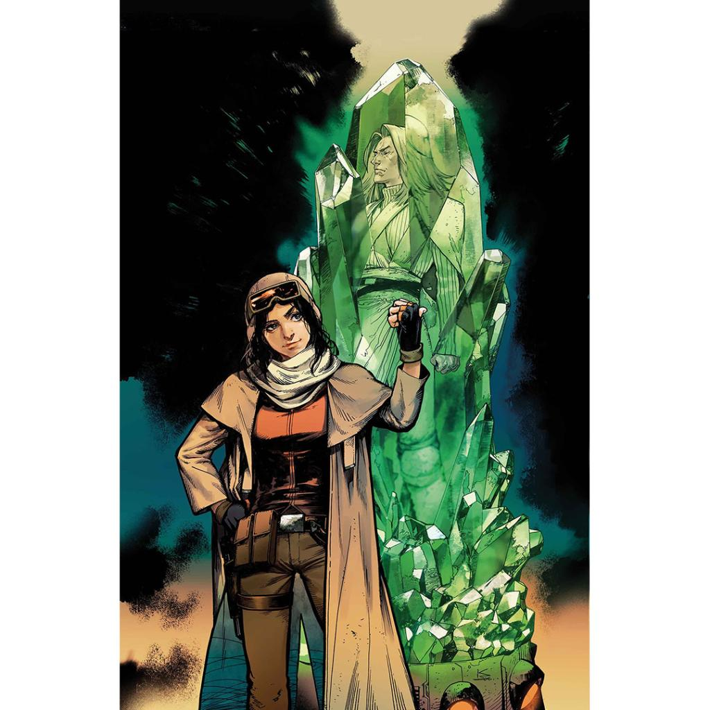 Kamome Kamiyama&#39;s crystalized cover art for the 10th issue of #Marvel&#39;s Doctor Aphra. Available today. <br>http://pic.twitter.com/Aqk2gexj25