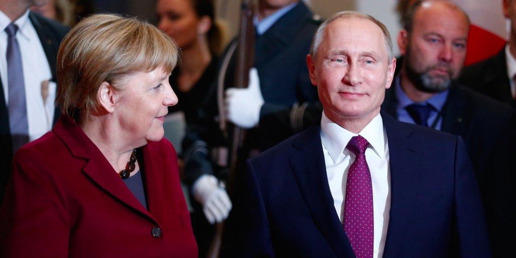 Worried it may hurt European businesses, Germany reviews the US's Russia sanctions bill https://t.co/Aiw0YNnUi7