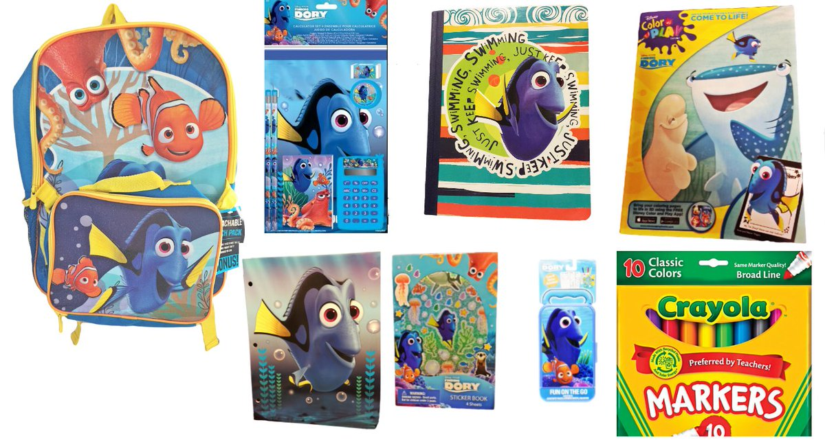 #FindingDory Backpack + Detachable Insulated Lunch Bag PLUS #Back2School Supplies #ad  http:// bit.ly/FindingDoryBac k2SchoolBackpack &nbsp; …  #GoodBuysAlltheTime<br>http://pic.twitter.com/4PjtSkNadW