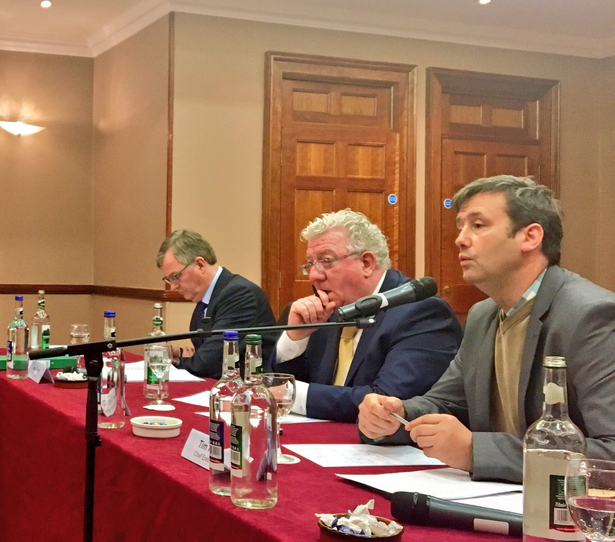 Min @MichaelDarcy fielding Q&A on #InsuranceReform with @IHFcomms national council earlier today