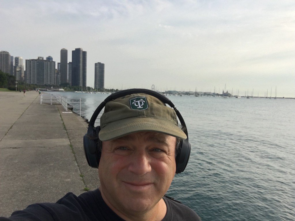 Chicago is one of the best morning walk towns ever. But who knew it was such a Windy City?
