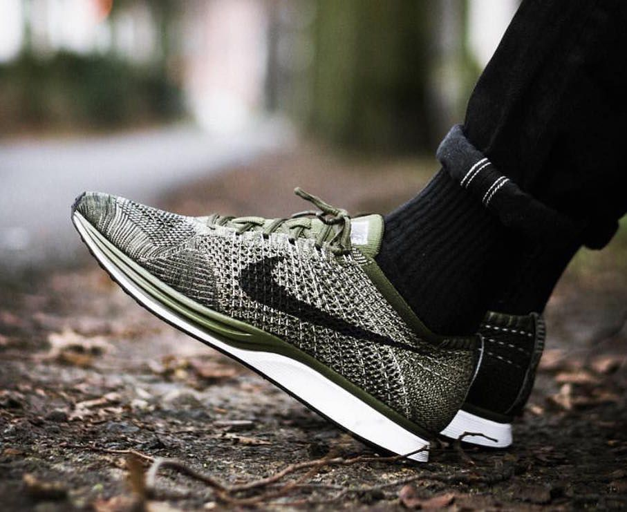 becb4d92502b Nike Flyknit Racer  Earth Tones  +  Blue Tint  on sale for  120 + FREE  shipping