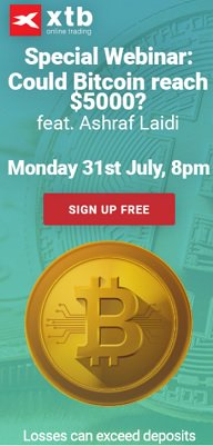 #Bitcoin drops $400 despite #BIP91 lockin. Why & What's ahead? Monday's webinar     https://t.co/PsZV15dTFL#forex#segwit