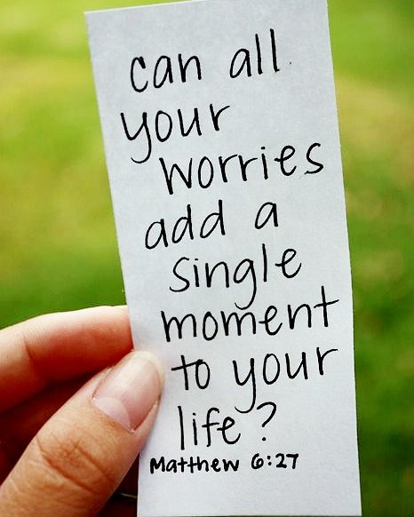 Can all your #worries add a single moment to your #life? #Matthew 6:27 #NLT  #BibleVerse #God #Jesus #quote #inspiration #DontWorry #BeHappy<br>http://pic.twitter.com/UftGwhmmN9
