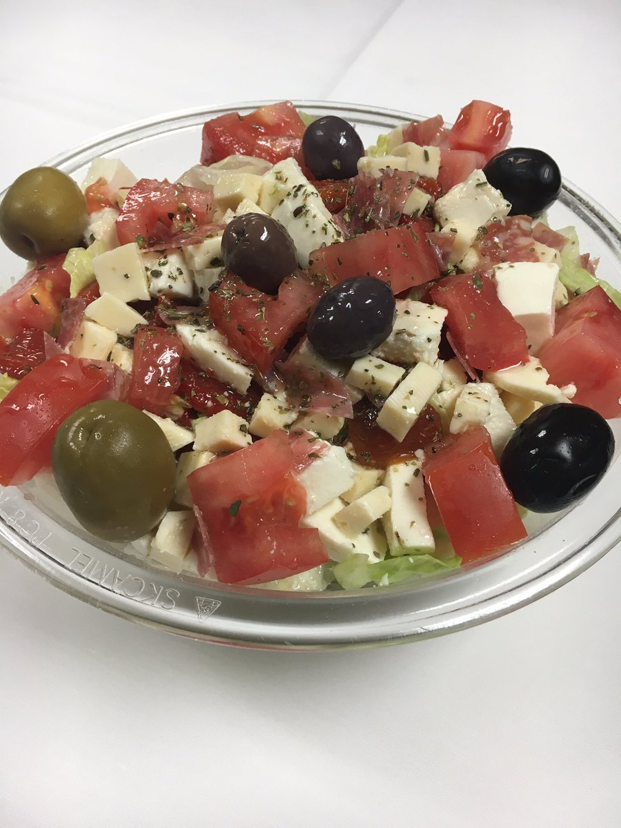 Enjoying a Nice Antipasto Salad!  #foodie #Salad #HealthyLiving #Italian #restaurant #yummy<br>http://pic.twitter.com/aAc6WCVxT3