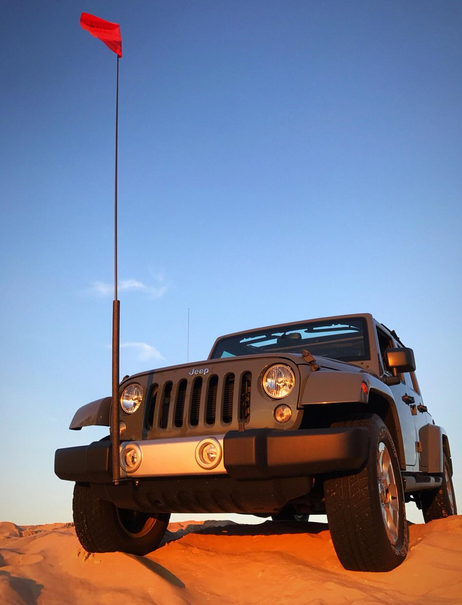 Let your fun flag fly. #Jeep📸: Stephanie I.