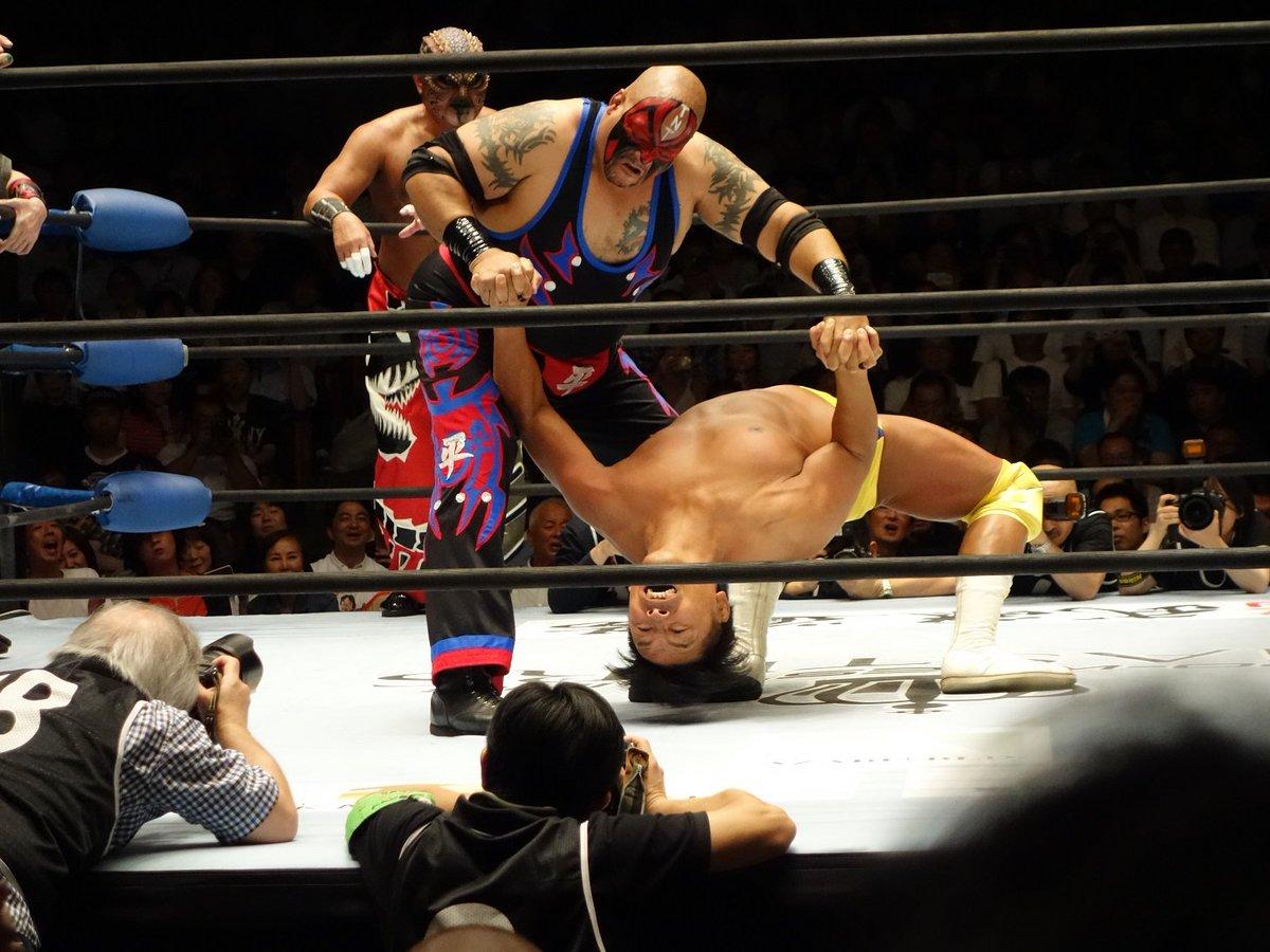 """W-1: Resultados """"Pro Wrestling Masters"""" 26/07/2017 La reunión de las grandes leyendas del Pro Wrestling japonés 4"""