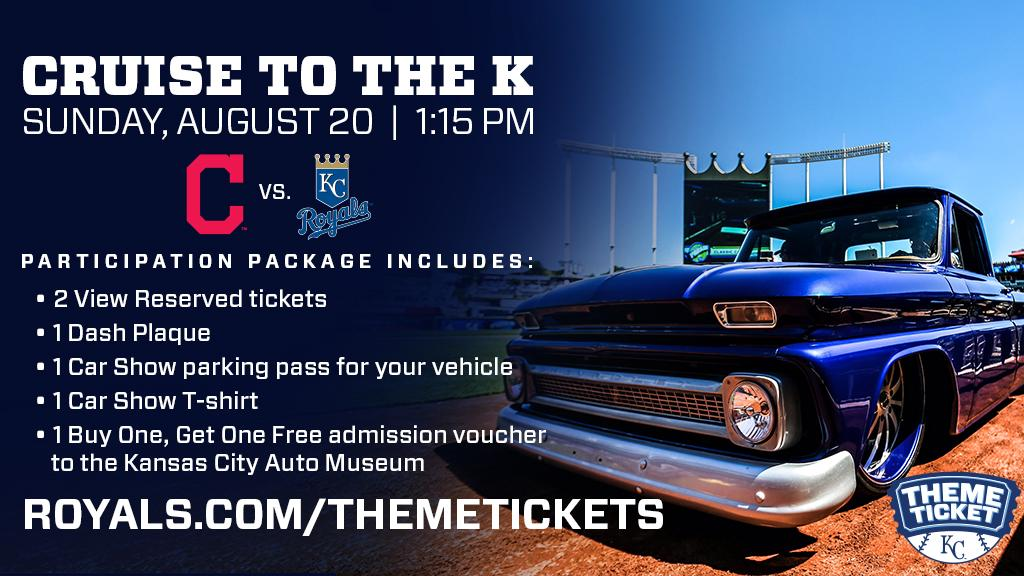 Kansas City Royals On Twitter Cruise To The K Th Annual Classic - Car show kansas city