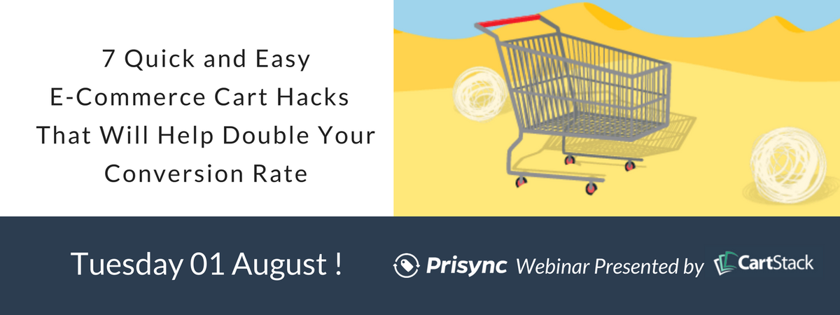 SAVE THE BIG DATE (1st August)  Don&#39;t miss the Prisync webinar with @CartStack to learn #Ecommerce Cart Hacks   http:// bit.ly/2uZ4Uoj  &nbsp;  <br>http://pic.twitter.com/9BXJuXofh0
