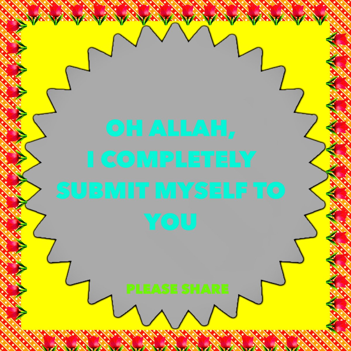 OH #ALLAH, I COMPLETELY SUBMIT MYSELF TO YOU  #Alhamdulillah @arewashams<br>http://pic.twitter.com/tusLKvY10n