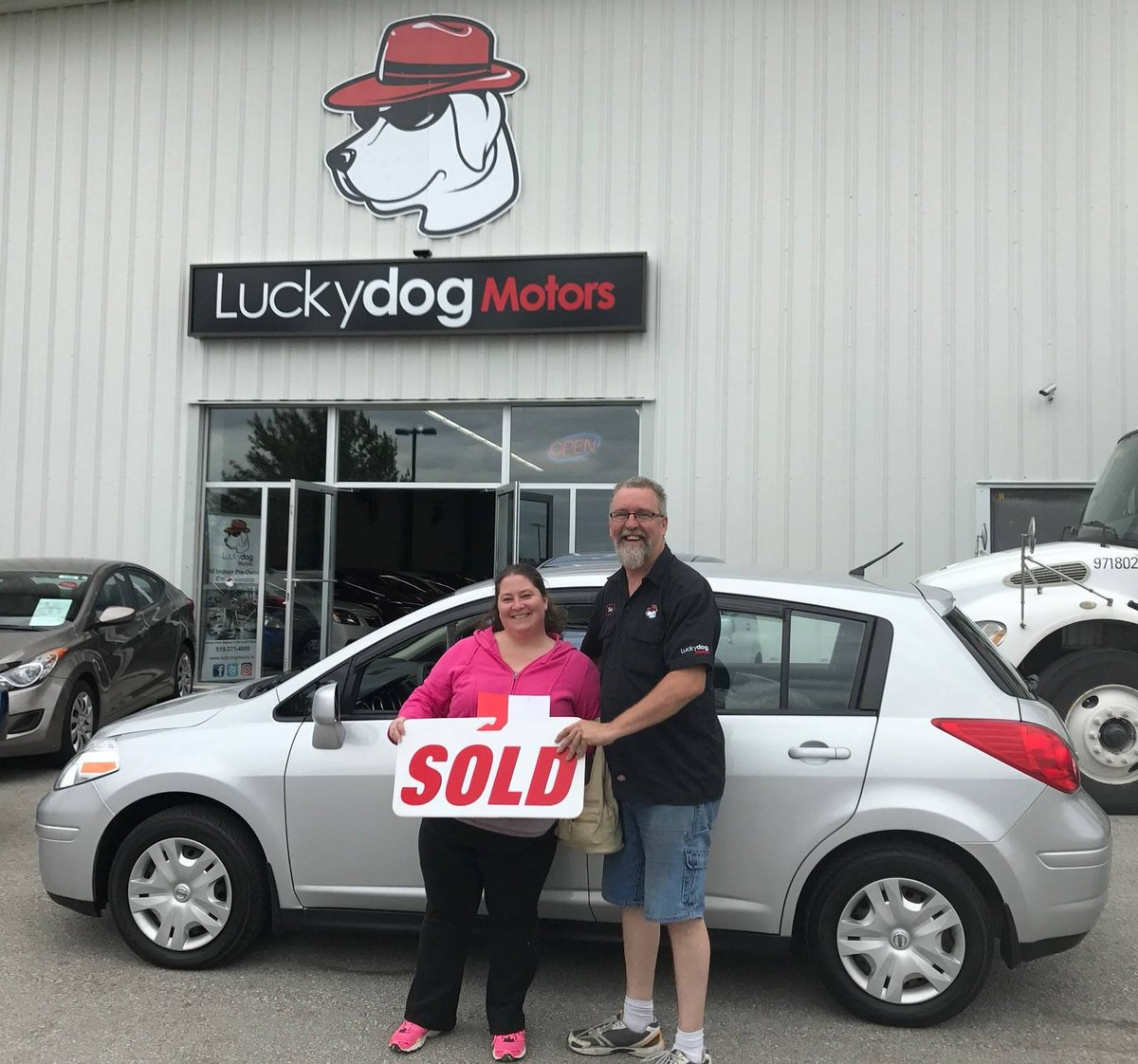 Congrats to Toni Hamilton on your new Nissan Versa we appreciate your business. #newcar #nissan #versa #southampton #owensound <br>http://pic.twitter.com/94Im2AByQo