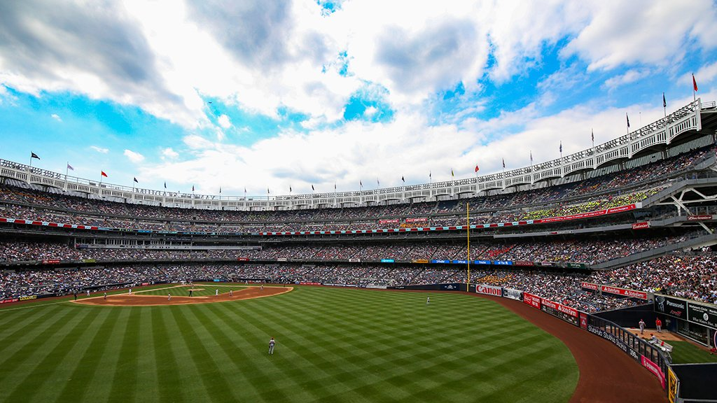 Picture perfect day in New York. �
