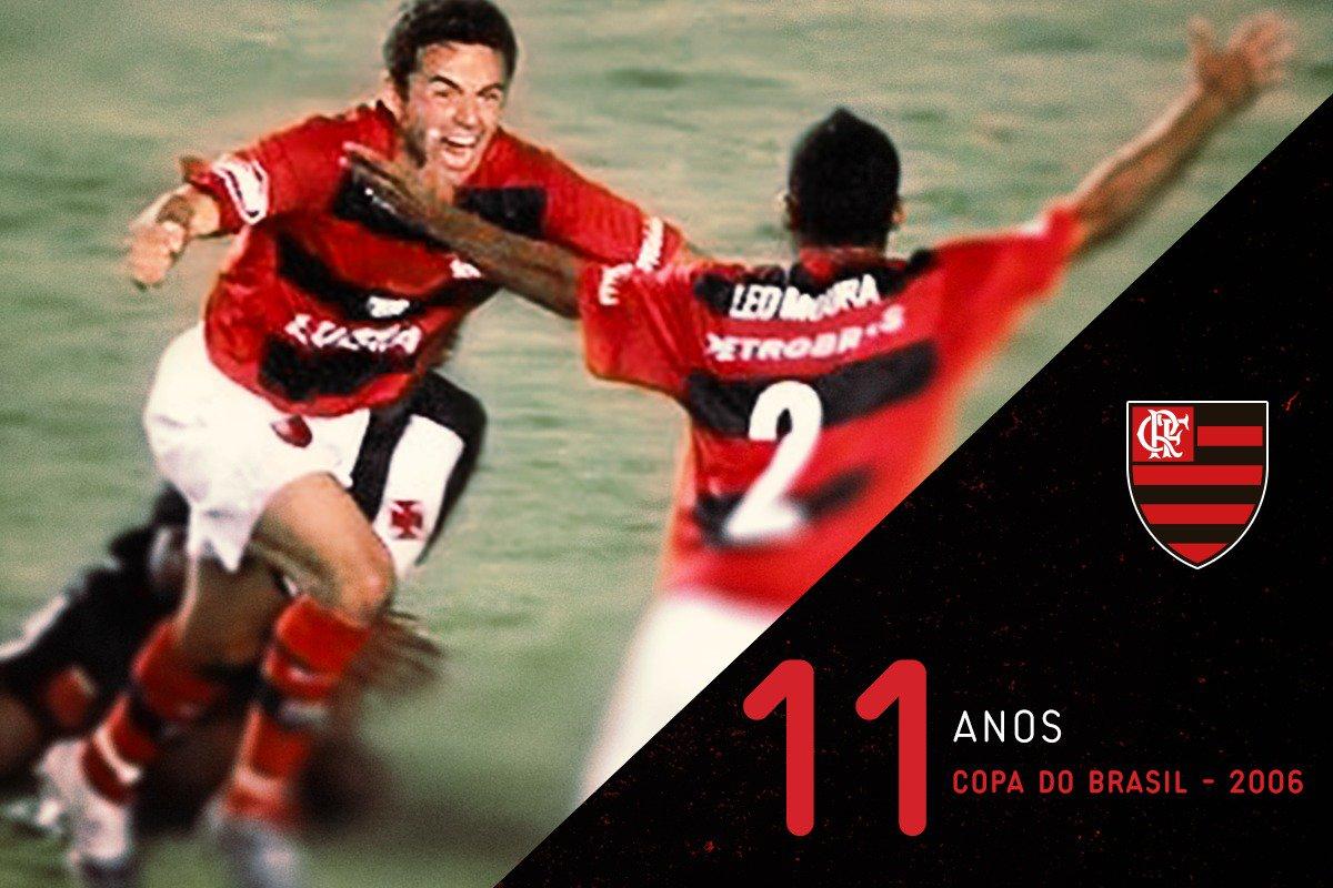 Recordar é viver. Há 11 anos, Flamengo Bicampeão da Copa do Brasil.