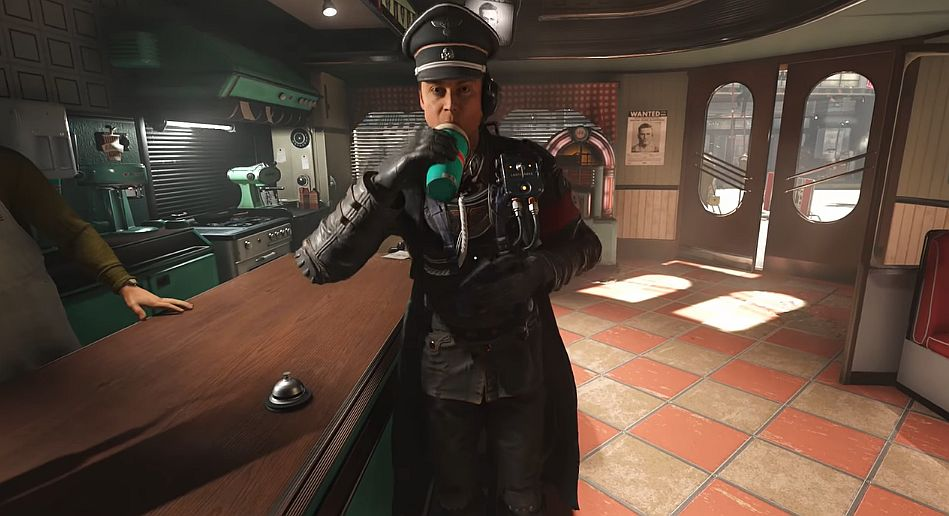 #Video_Games #colossus #flavors #milkshakes #other In Wolfenstein 2: The New Colossus one Nazi prefers strawberry…  https:// goo.gl/v1rQbs  &nbsp;  <br>http://pic.twitter.com/BkIJFcx2BP