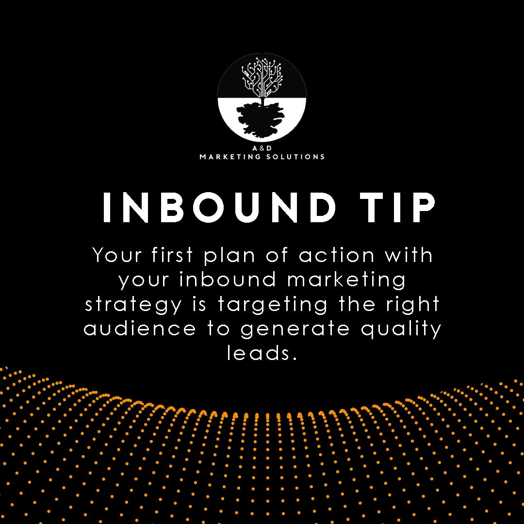 Build a solid #strategy to get the best of #InboundMarketing.  http:// ad-marketingsolutions.com  &nbsp;   #SEO #Marketing #DigitalMarketing #Success #WebTraffic <br>http://pic.twitter.com/1nEq9Qji72