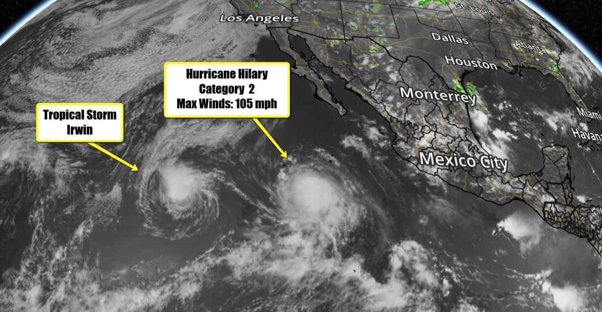 hurricanehilary hashtag on Twitter