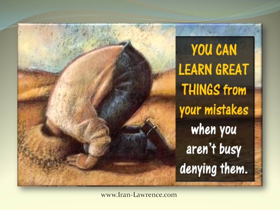 You can #learn a great #deal from your #mistakes. <br>http://pic.twitter.com/BTZ2P4AdO8