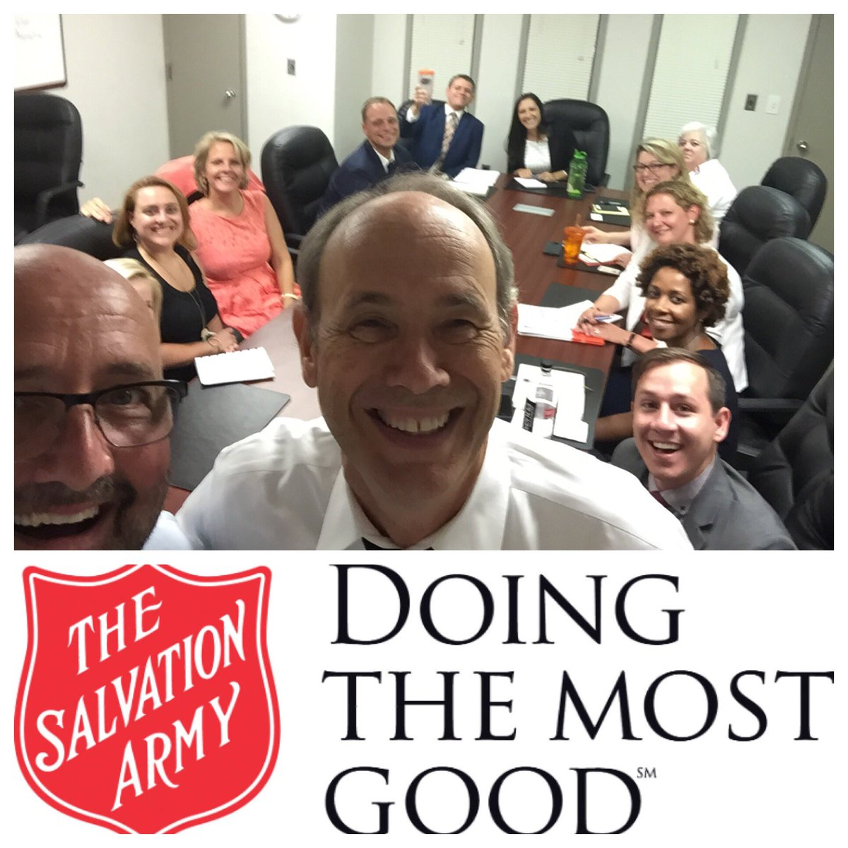 Inspiring visit with fave #ymca #charity partners and friends.  Thx for hosting us, @rbusroe, Sabrina, @JRLJL1 @Byrd and @SalvationArmyUS!<br>http://pic.twitter.com/Ob6KLI50Uf