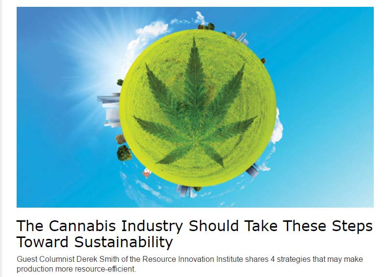 The Cannabis Industry Should Take These Steps Toward #Sustainability  http:// bit.ly/2relAqA  &nbsp;   @EditorCBT<br>http://pic.twitter.com/MzlUm6FiMW