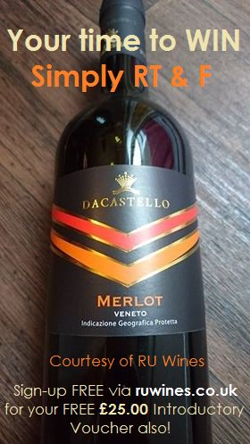 To #WIN a plummy #Merlot from  http:// ruwines.co.uk  &nbsp;   #today, simply RT&amp;F Ends 10am 28/7/17! #free #food #wine #love #WineWednesday #ownit<br>http://pic.twitter.com/K7RFcWjjro