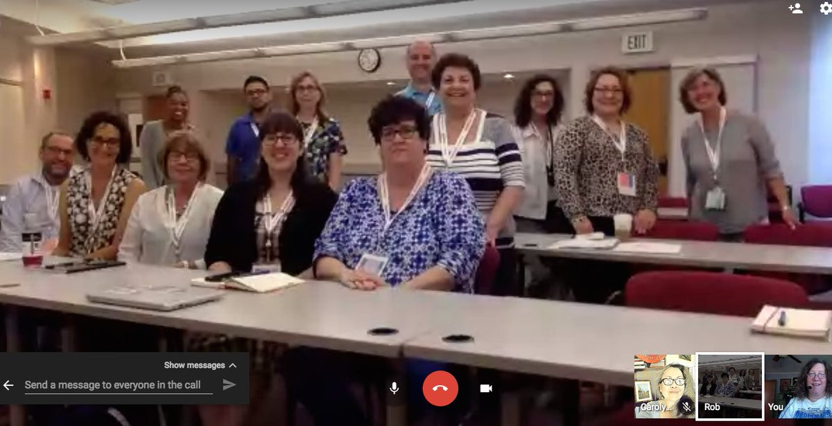 Folks talking online engagement at #2017NationalSummit NOW. @energizeinc @RobJConsulting @lizaface  #tech4good #volunteers #googlehangout<br>http://pic.twitter.com/r00EJEO7pd