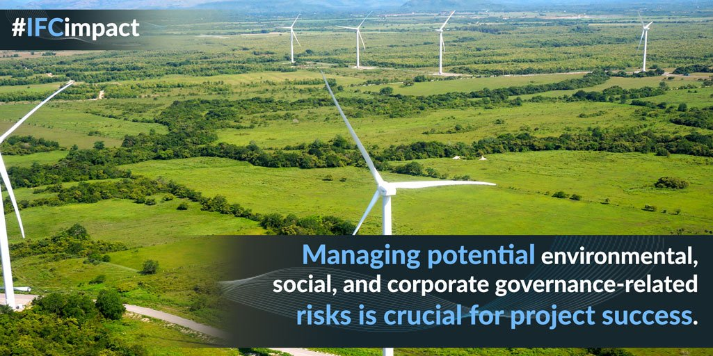 IFC's Performance Standards define clients&#39; responsibilities to manage #environmental &amp; social risks  http:// wrld.bg/VDjS30dMHzp  &nbsp;   #IFCimpact <br>http://pic.twitter.com/KeyJM9ArwW
