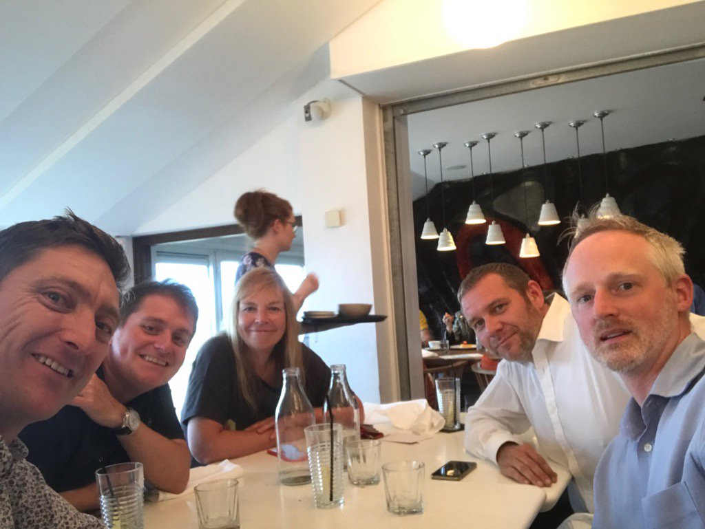 Great to meet up with #socent friends @FifteenCornwall @SocialEnt_UK @edencommunities @resonanceltd @realideasorg<br>http://pic.twitter.com/j4Kz2MDiJP