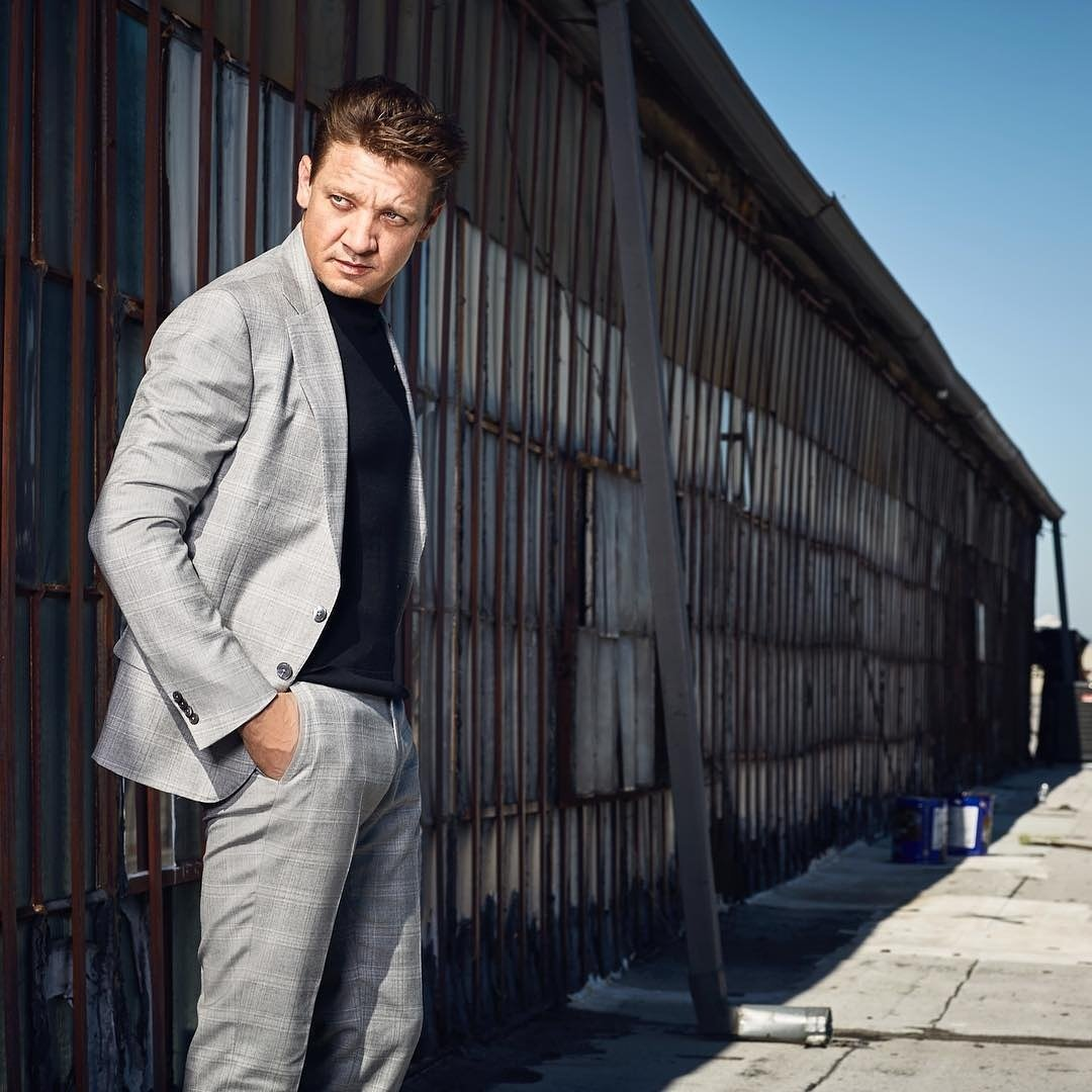 Via IG @johnrussophoto #jeremyrenner for @noblemanmagazine styled and groomed to perfection by @paris_libby &amp; @dianaschmidtke1 #greatteam  <br>http://pic.twitter.com/ZPPHTZlGv4