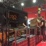 TORQ Stand well on the way for @RideLondon expo. Opens tomorrow at 10am #PrudentialRideLondon #ReasonToRide