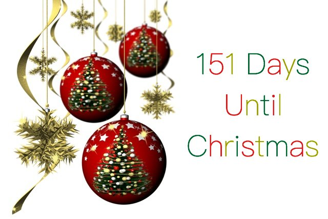 christmas countdown on twitter 151 days until christmas httpstco08kjvawqc2 notlong festive presents - Countdown Till Christmas Decoration