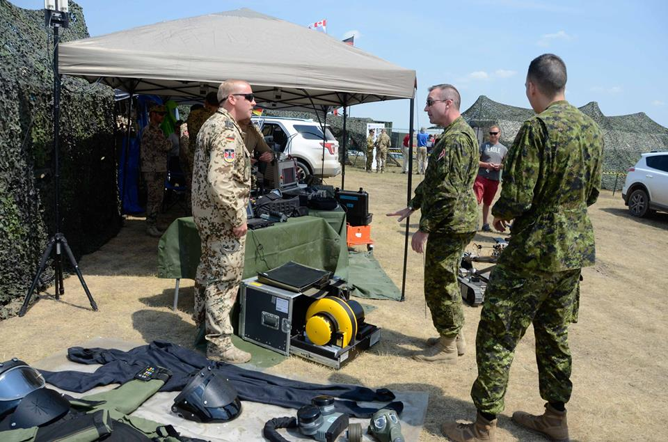 Canada is host to #NATO's Ex #PreciseResponse (#Chemical, #Biological, #Radiological and #Nuclear #Defense)  #StrongProudReady #WEARENATO<br>http://pic.twitter.com/tqkMhZI1TE