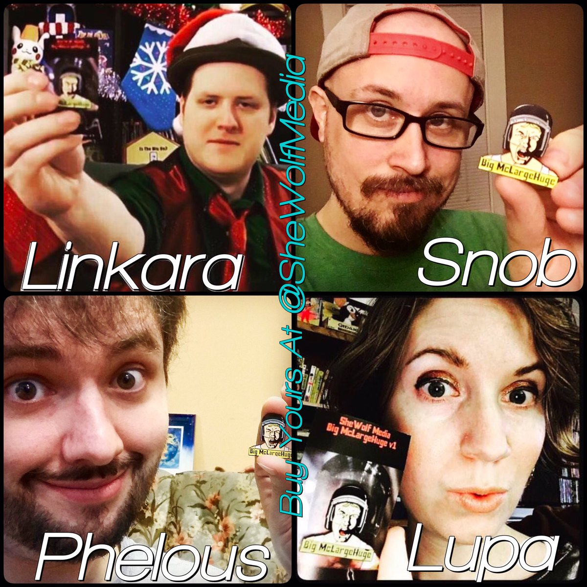 4 of our favorite Reviewers all repping our 1st #MST3K Pin! Get yours at  https://www. etsy.com/listing/466362 532/mst3k-inspired-enamel-pin-space-mutiny &nbsp; …  | #etsy #enamelpin #reviewers #moviesign<br>http://pic.twitter.com/bASAVgDCof