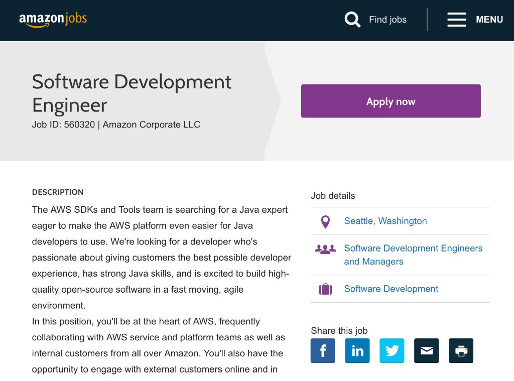 AWS SDK for Java (@awsforjava) | Twitter