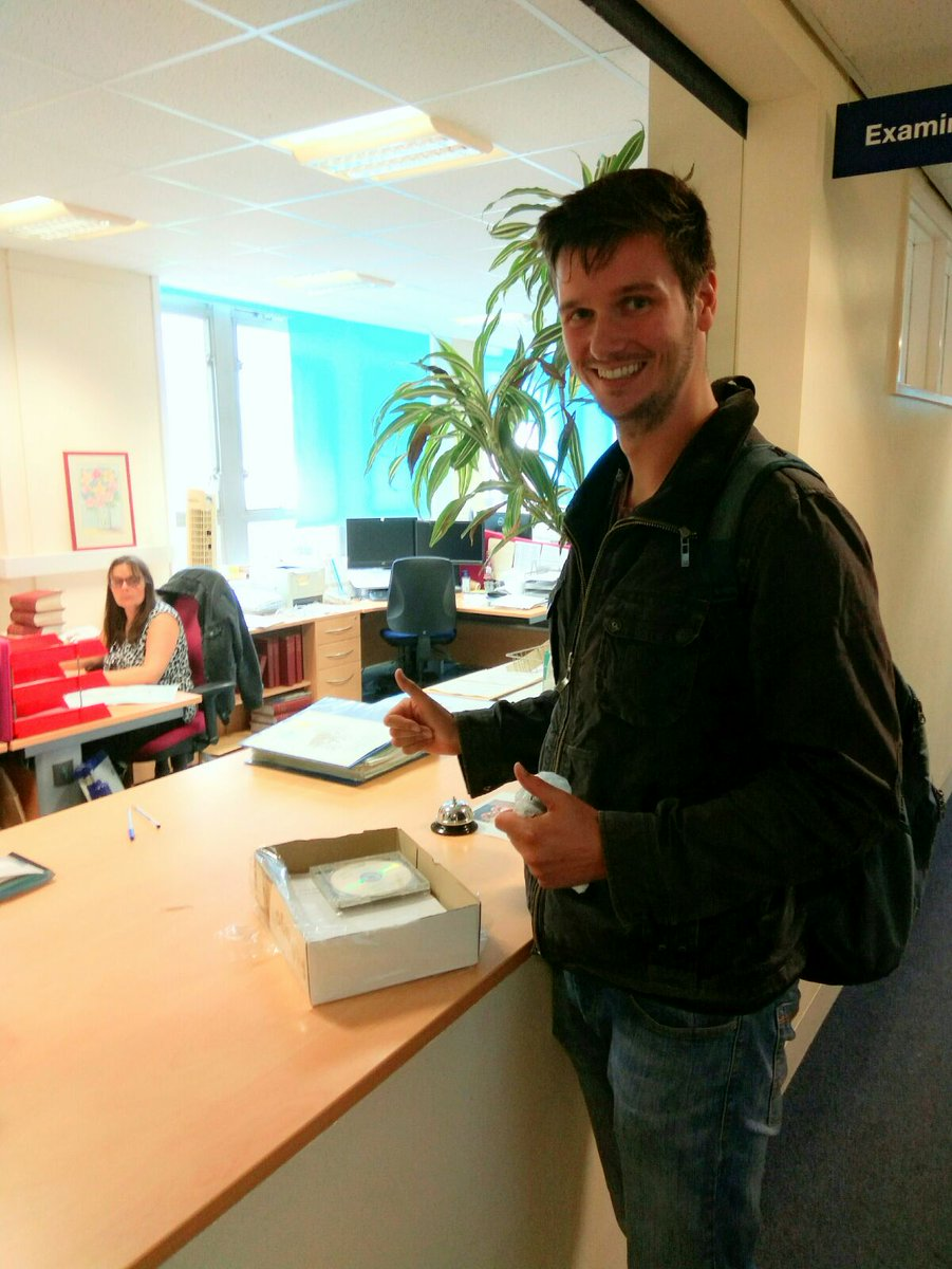 Handed in my PhD thesis today! Holiday time! @David_S_Bristol @ChrissyLHam @BristolBiochem #phdlife #PhD <br>http://pic.twitter.com/KKLX1R1ATL