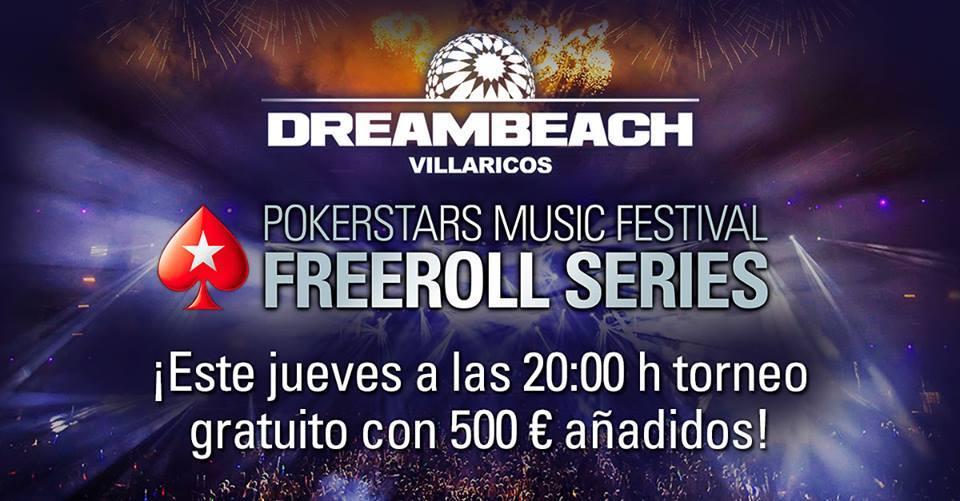 ¡Recuerda que los jueves @PokerStarsSpain regala 500€ en premios! Info aquí ➡️http://www.pokerstars.es/poker/benefits/music-festival/…