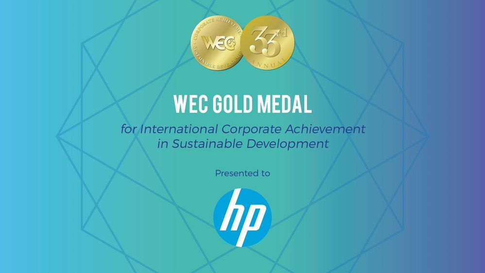 #Sustainability highlights: @HP takes home gold for its work to make the #planet #green  http:// buff.ly/2te07uG  &nbsp;  <br>http://pic.twitter.com/JiO72UYkbS